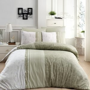 Постельное белье ТМ First Choice De Luxe peitra yesil 200×220