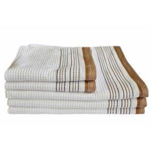 Вафельное полотенце ТМ Arya Ella Белое