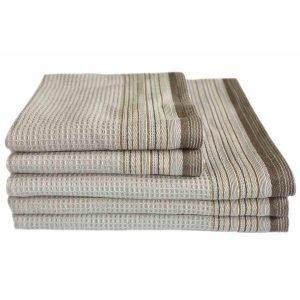 Вафельное полотенце ТМ Arya Ella Серое