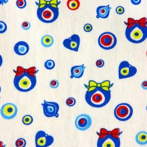 Кухонное полотенце Оберег 30×50см голубое