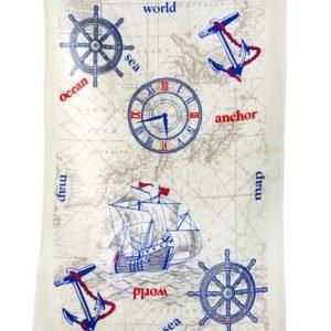 купить Кухонное полотенце Океан 40x60см голубое Турция (IZ-2200000544032)