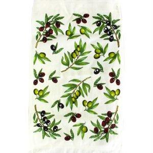купить Кухонное полотенце Оливки new зеленое Турция (IZ-2200000544551-v)