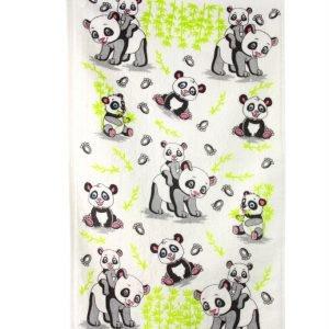 Кухонное полотенце Панда 40×60см серое