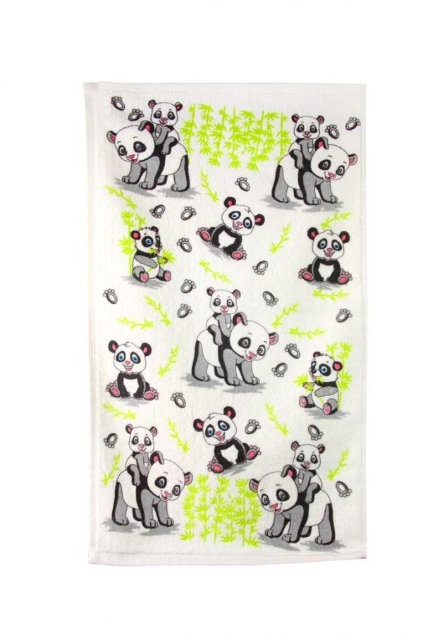 купить Кухонное полотенце Панда 40x60см серое Турция (IZ-2200000544049)