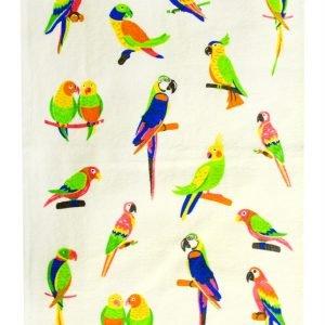 Кухонное полотенце Папугай 30×50см зеленое
