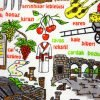 купить Кухонное полотенце Турция 40x60см зеленое Турция (IZ-2200000544087) 46588