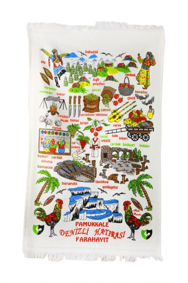 купить Кухонное полотенце Турция 40x60см зеленое Турция (IZ-2200000544087)