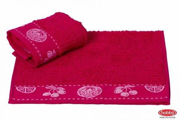 купить Кухонное полотенце MEYVE fusya 30x50см розовое Турция (IZ-8698499302181)