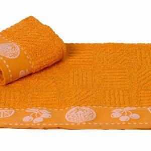 Кухонное полотенце MEYVE hardal 30×50см оранжевое