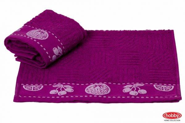 купить Кухонное полотенце MEYVE mor (lila) 30x50см фиолетовое Турция (IZ-8698499302167)