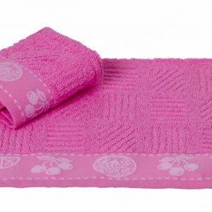 Кухонное полотенце MEYVE pembe 30×50см розовое