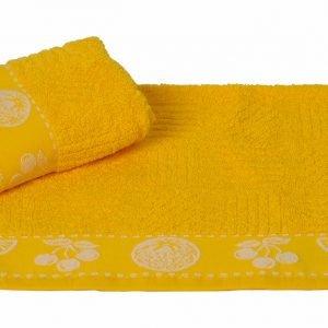 купить Кухонное полотенце MEYVE sari 30x30см желтое Турция (IZ-8698499125988)