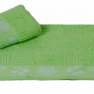Кухонное полотенце MEYVE yesil 30×50см зеленое