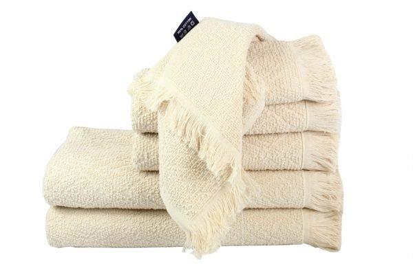 Махровое полотенце Aquarelle кремовое