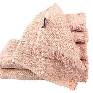 Махровое полотенце Aquarelle розовое