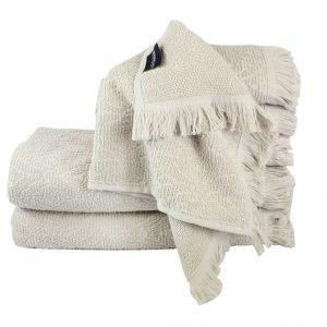 Махровое полотенце Aquarelle серое