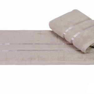 Махровое полотенце DOLCE бежевое