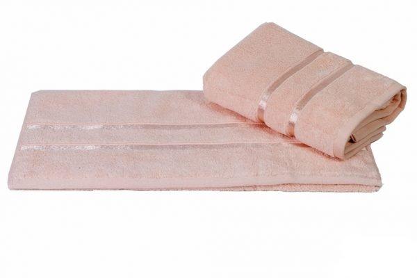 купить Махровое полотенце DOLCE розовое Турция (IZ-8693812848636-v)