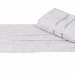 Махровое полотенце DOLCE серое