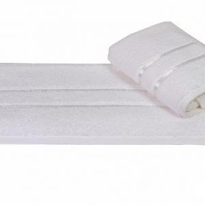 купить Махровое полотенце DOLCE 50x90см белое Турция (IZ-8698499300613)