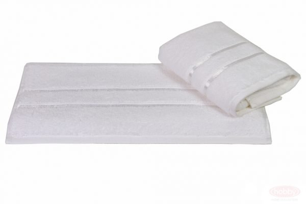 Махровое полотенце DOLCE 50×90см белое