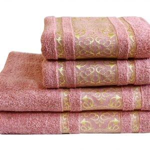 Махровое полотенце Imperial роза