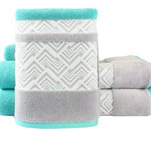 Махровое полотенце NAZENDE бирюзовое