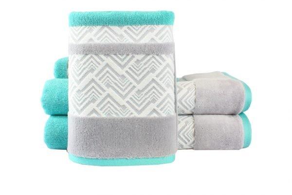 купить Махровое полотенце NAZENDE бирюзовое Турция (IZ-8698499313798-v)