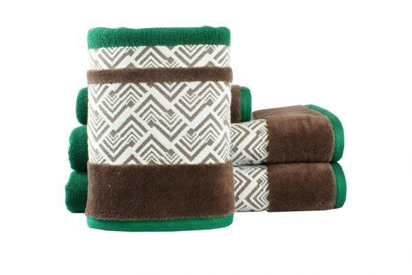 купить Махровое полотенце NAZENDE зеленое Турция (IZ-8698499313736-v)