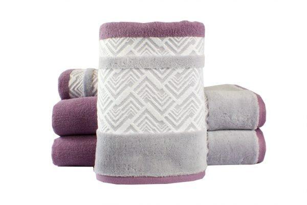 купить Махровое полотенце NAZENDE лиловое Турция (IZ-8698499313811-v)