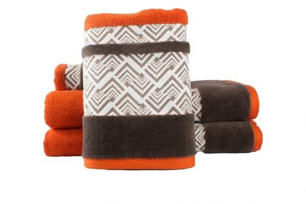 купить Махровое полотенце NAZENDE оранжевое Турция (IZ-8698499313774-v)