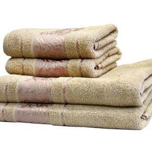 купить Махровое полотенце Ottoman бежевое Турция (IZ-2200000544674-v)