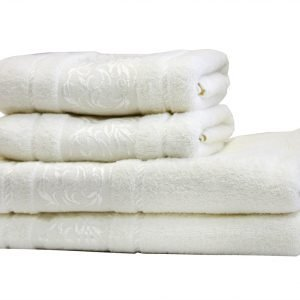 купить Махровое полотенце Ottoman белое Турция (IZ-2200000544650-v)
