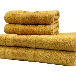 купить Махровое полотенце Ottoman желтое Турция (IZ-2200000544704-v)