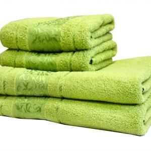 купить Махровое полотенце Ottoman зеленое Турция (IZ-2200000544711-v)