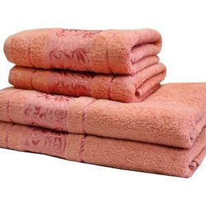 Махровое полотенце Ottoman розовое