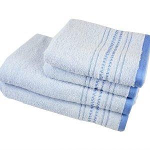 купить Махровое полотенце Pacific голубое Турция (IZ-2200000037541-v)