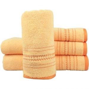 Махровое полотенце Pacific оранжевое