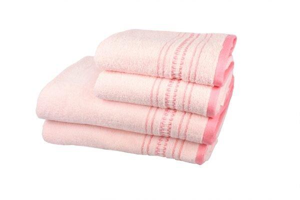купить Махровое полотенце Pacific розовое Турция (IZ-2200000037565-v)