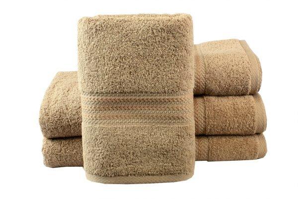 купить Махровое полотенце RAINBOW бежевое Турция (IZ-8698499302723-v)