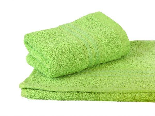 купить Махровое полотенце RAINBOW зеленое Турция (IZ-8698499309500-v)