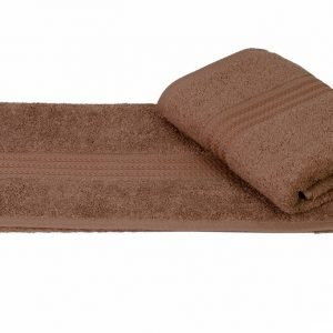 Махровое полотенце RAINBOW коричневое