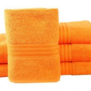 купить Махровое полотенце RAINBOW оранжевое Турция (IZ-8698499302662-v)