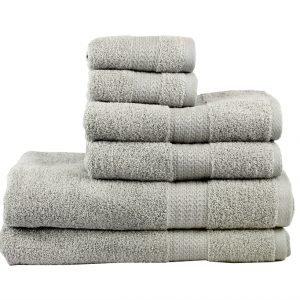 Махровое полотенце RAINBOW серое