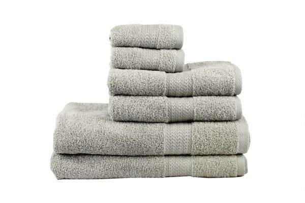 купить Махровое полотенце RAINBOW серое Турция (IZ-8698499302440-v)