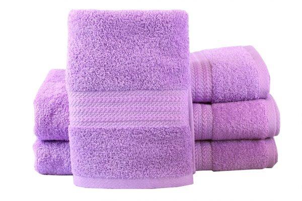 купить Махровое полотенце RAINBOW сиреневое Турция (IZ-8698499302648-v)