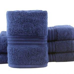 Махровое полотенце RAINBOW 50×90см синее