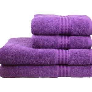 Махровое полотенце RAINBOW 50×90см сиреневое