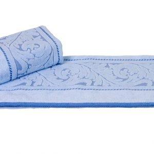 Махровое полотенце Sultan голубое