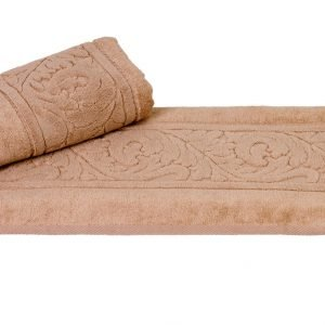 Махровое полотенце Sultan коричневое
